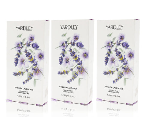 Yardley of london english lavender luxury soap 3 pack 3.5oz