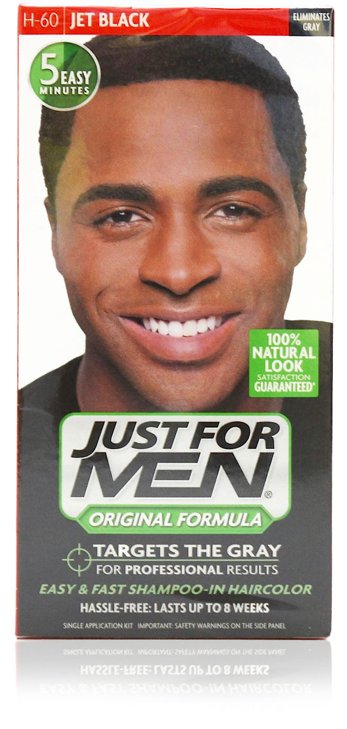 Just for men h-60 formula jet black (3 pack)