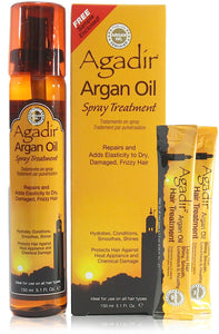 Agadir argan oil spray treatment 5.1 oz spray bottles