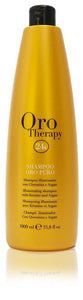 Fanola oro therapy 24k illuminating shampoo with keratin and argan 33.8oz
