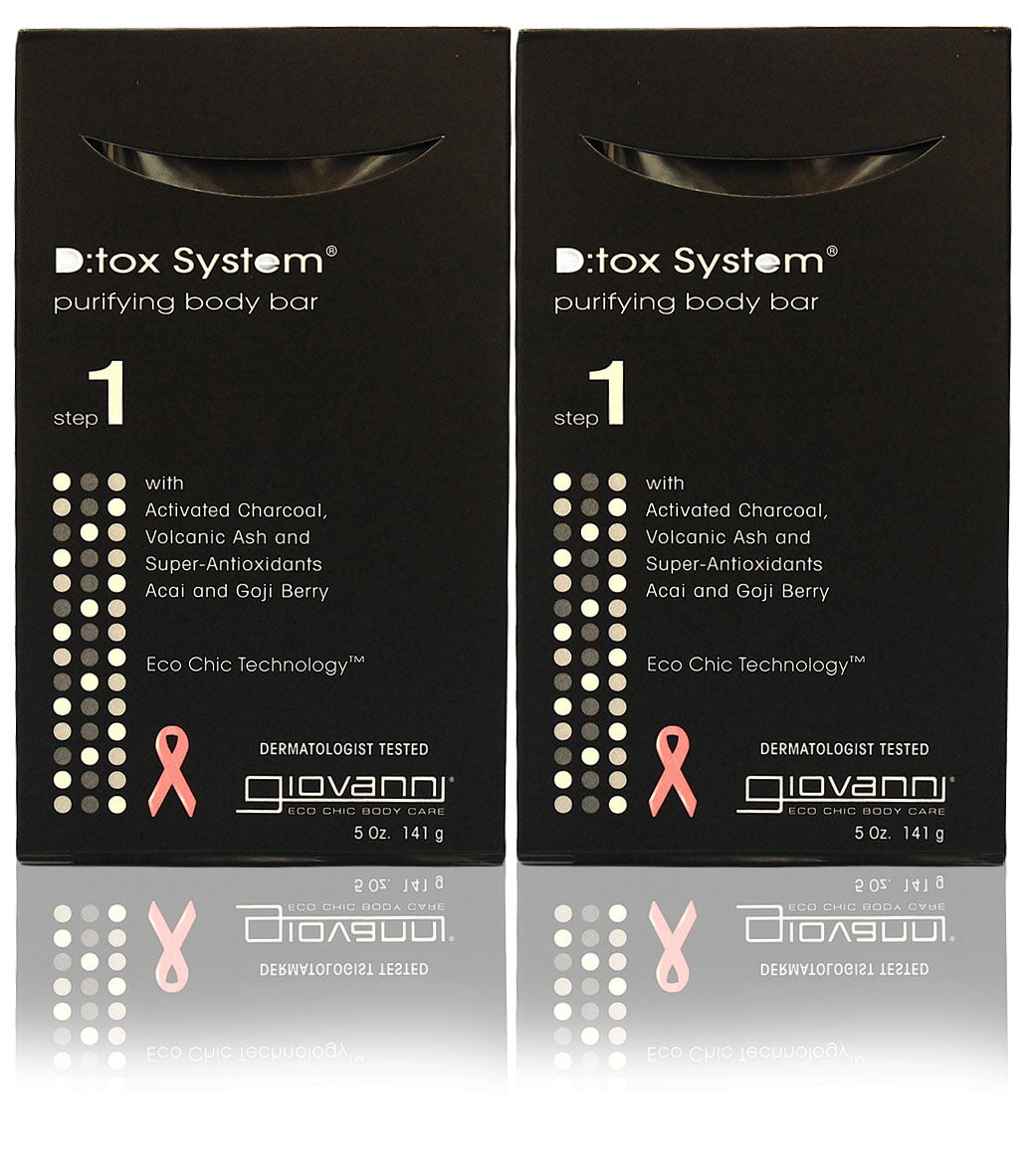 Giovanni d:tox system,purifying body bar(pack of 2)