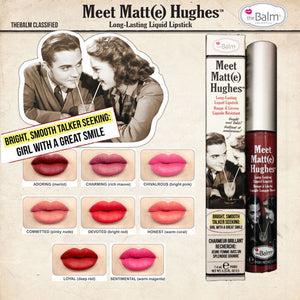 The Balm Meet Matt(e) Hughes Devoted