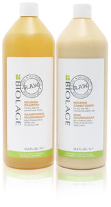 Matrix biolage r.A.W nourish shampoo & conditioner duo 33.8 oz