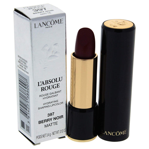 Lancome L'Absolu Rouge Hydrating Shaping Lip Color No.397 Berry Noir Matte .12oz