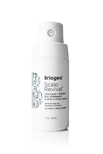 Briogeo - Scalp Revival Charcoal + Biotin Dry Shampoo, Scalp-Nourishing 1.7 oz