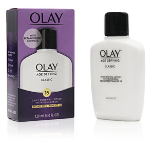 Oil Of Olay Age Defying Classic Daily Renewal Lotion With Sunscreen Sp15 (3 Pack)