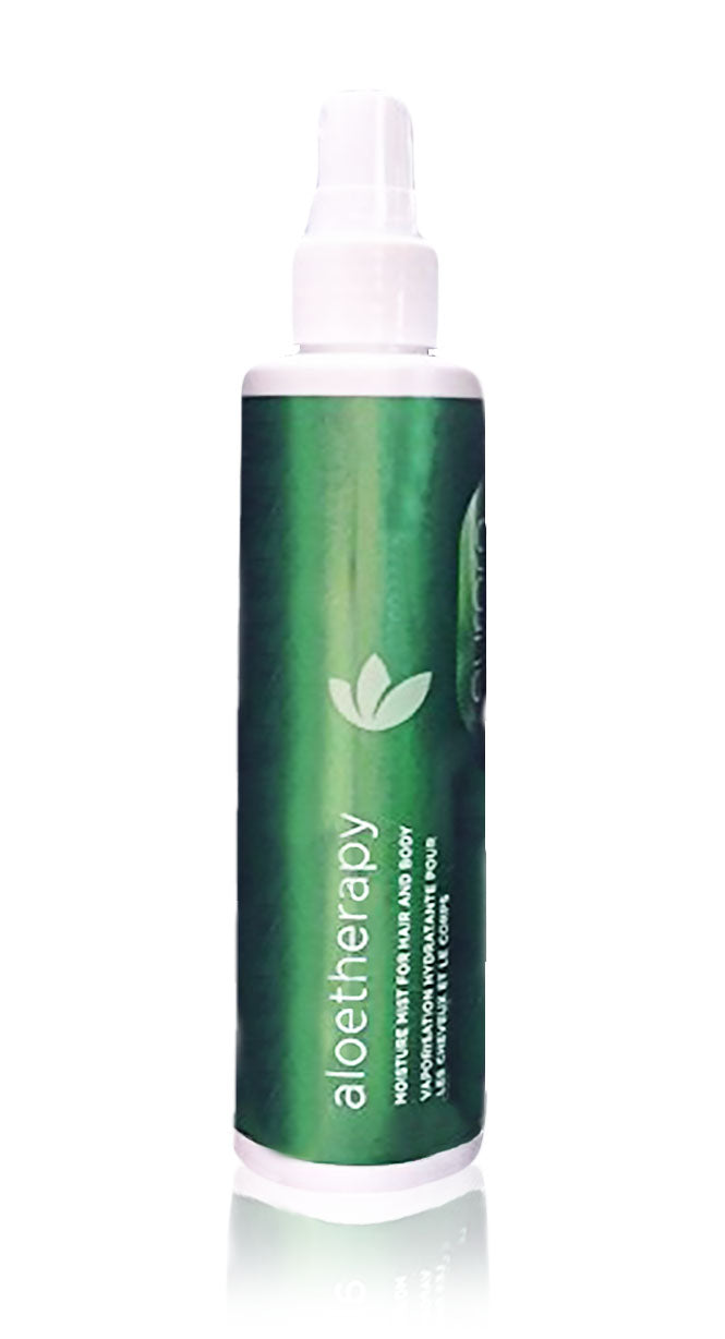 Eufora's new 6.8oz aloe therapy line moisture mist for hair and body