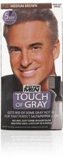 Just for men t-35 touch of gray easy comb-in medium brown (3 pack)