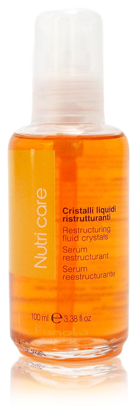 Fanola nutri care restructuring fluid crystals 3.38oz