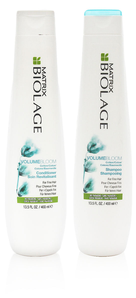 Matrix biolage volumebloom shampoo/conditioner duo, 13.5 oz