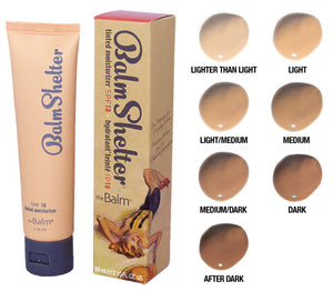 The balm balm shelter tinted moisturizer - light