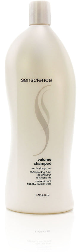 Senscience volume shampoo for fine limp hair, 33.8 oz