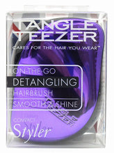 Tangle teezer -compact styler purple glitter