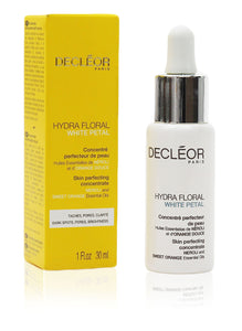 Decleor Hydra Floral White Petal Skin Perfecting Concentrate 30ml Pipette