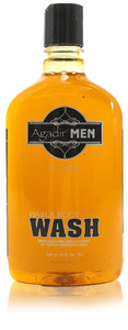 Agadir men hair & bodywash 17 oz.