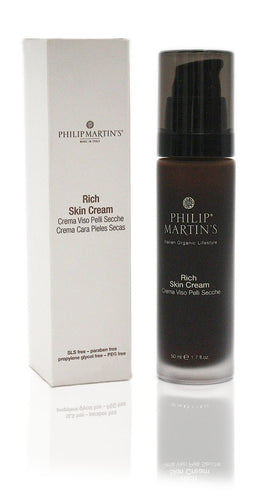 Philip martin's rich skin cream 50ml tag