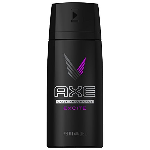 Axe Excite Daily Fragrance Deodorant & Body Spray, 4oz Can