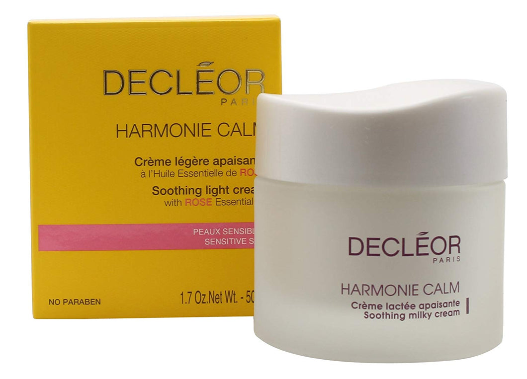 Decleor Harmonie Calm Soothing Light Cream, 1.69 Fluid Ounce