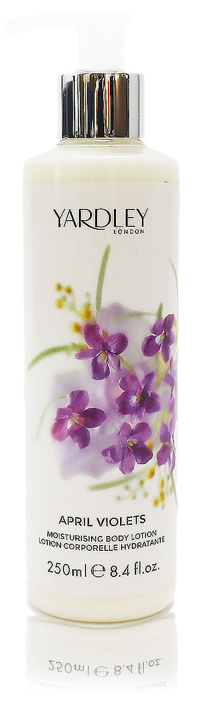 Yardley of london april violets moistorising body lotion 8.4oz