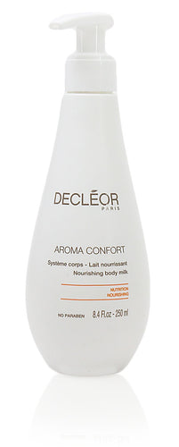 Decleor Aroma Comfort Nourishing Body Milk For Unisex, 8.4 Fl.oz-250ml