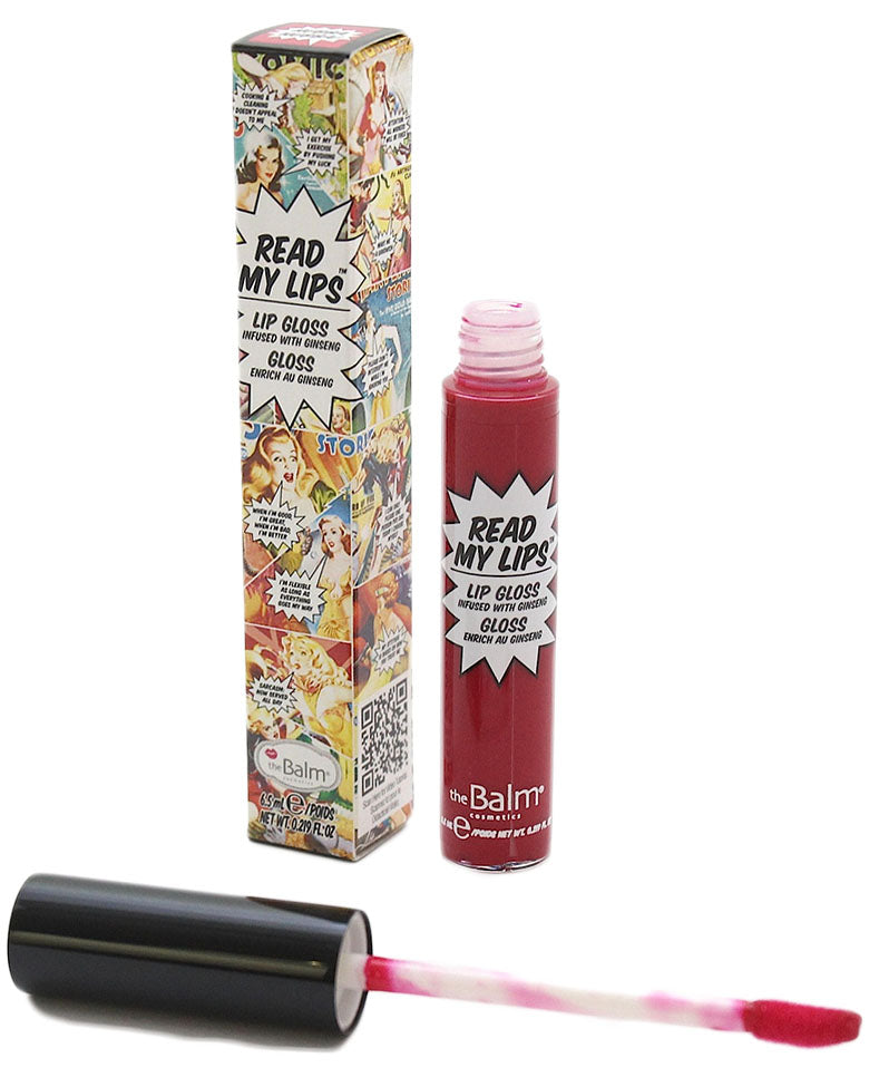 The Balm Read My Lips Lipgloss- Hubba Hubba!