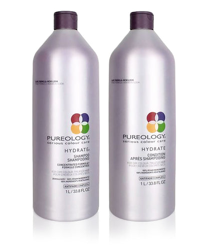 Pureology Hydrate Shampoo and Conditioner Set (Multiple Sizes Available)
