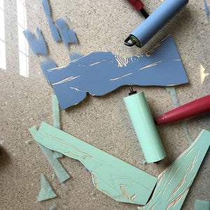Jigsaw Reduction Printmaking Workshop