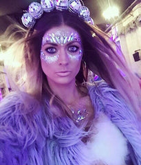 Ciara Monahan Light Up Disco Ball Crown - worn by Posie Dwyer