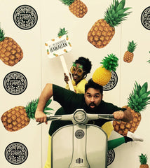 Ciara Monahan Pineapple Headpiece - Pizza Express Tour