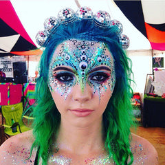 Ciara Monahan Light Up Disco Ball Crown