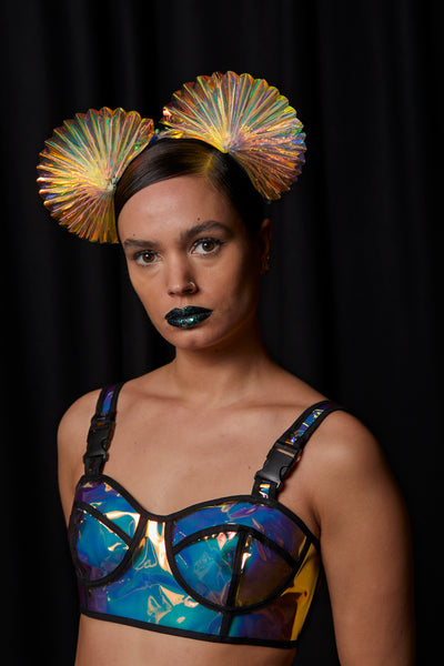 Ciara Monahan - Fold Away Double Nebula Headpiece