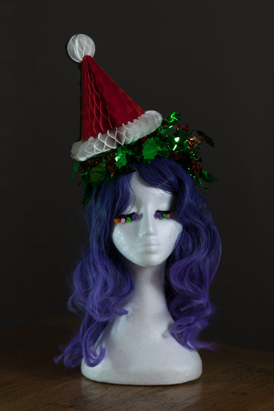Fold-Away Santa Hat Headpiece - Ciara Monahan
