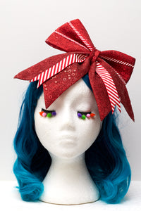 Oversized Christmas Bow Headband - Ciara Monahan