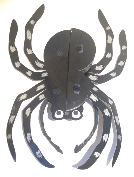Halloween Giant Spider Headpiece (closed) - Ciara Monahan