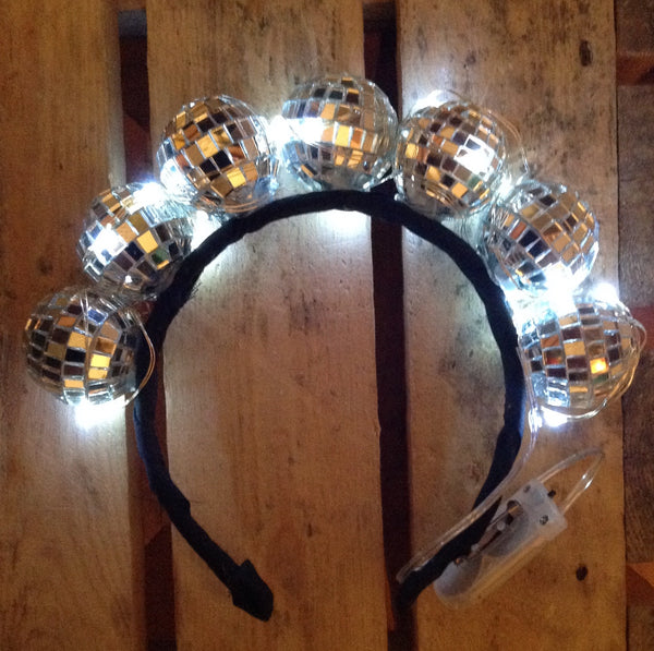 Light Up Disco Ball Headband - Ciara Monahan