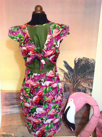 Festival Flamingo Dress - Ciara Monahan
