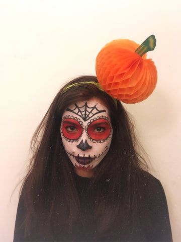 Halloween Pumpkin Headpiece - Ciara Monahan