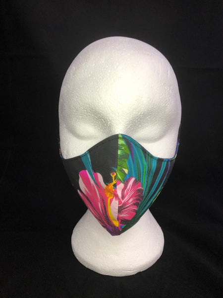 Reversible Tropical Print Face Mask - Ciara Monahan