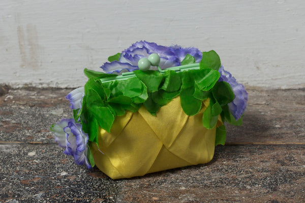Floral Tropical Festival Coin Purse - Hand Made - Ciara Monahan