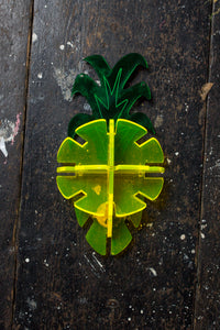 Hand Made Perspex Pineapple Brooch - Ciara Monahan