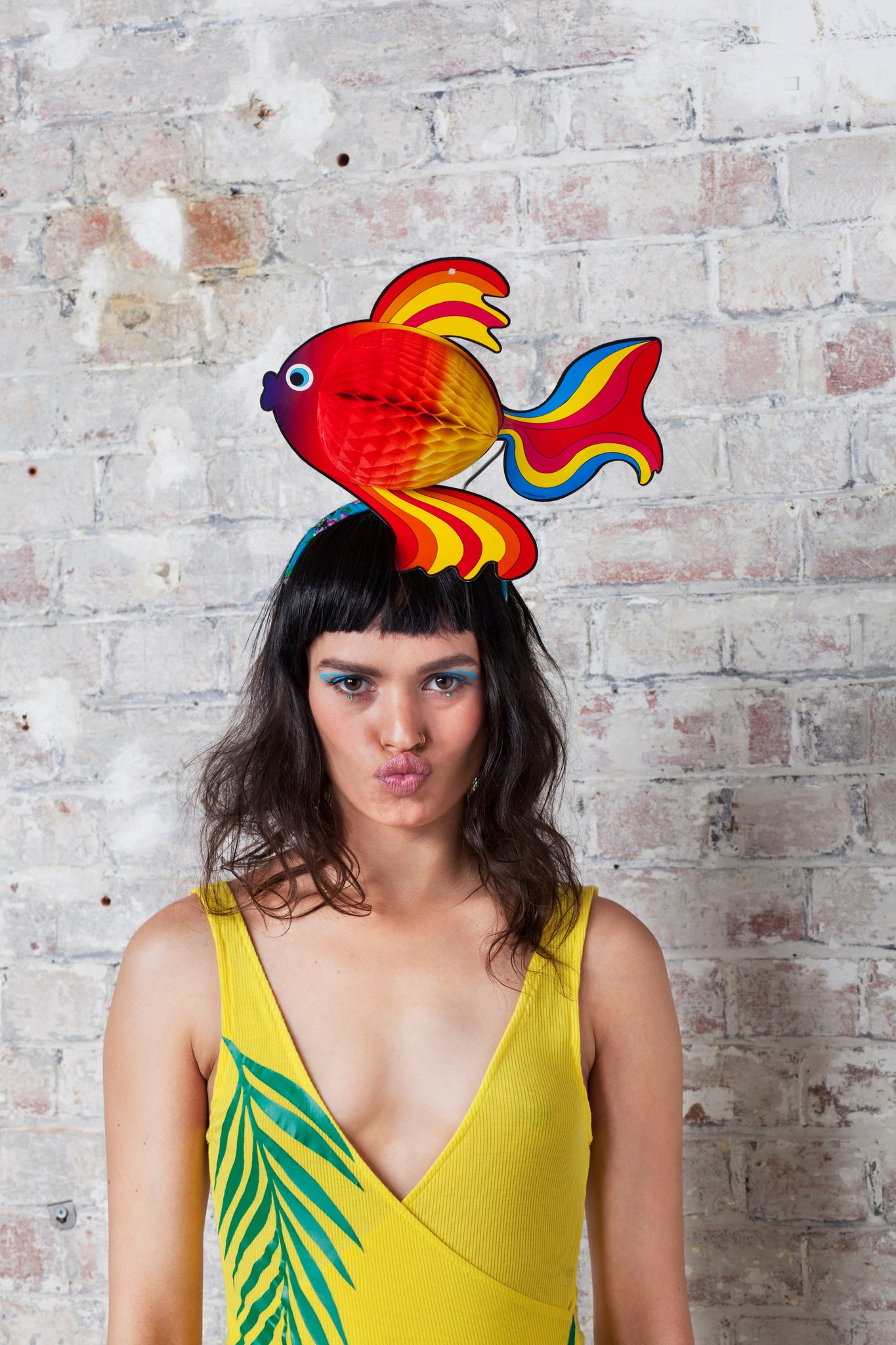 Large Tropical Fish Festival Headpiece - Ciara Monahan