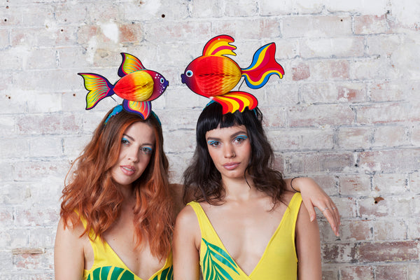 Tropical Fish Festival Headpiece - Small & Large - Ciara Monahan