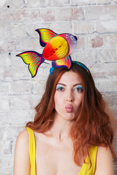 Tropical Fish Festival Headpiece - Ciara Monahan