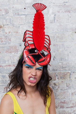 Lobster Headpiece - Ciara Monahan
