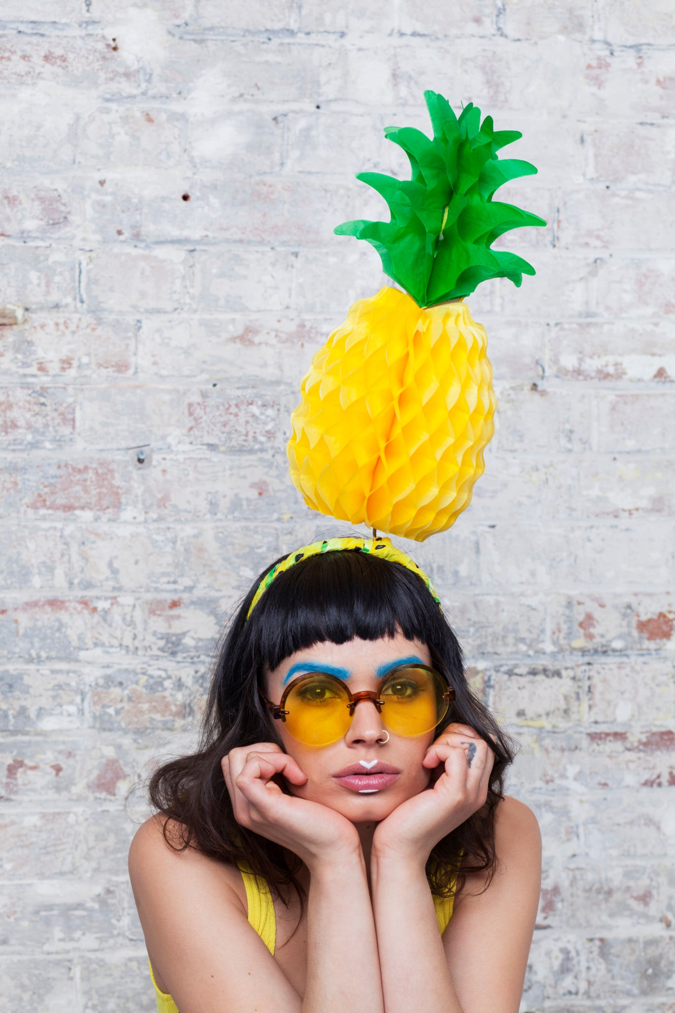 Festival Pineapple Headpiece - Ciara Monahan