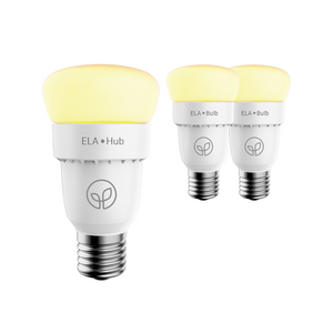 ELA Smart Hub & 2 Smart Bulbs - Starter Kit