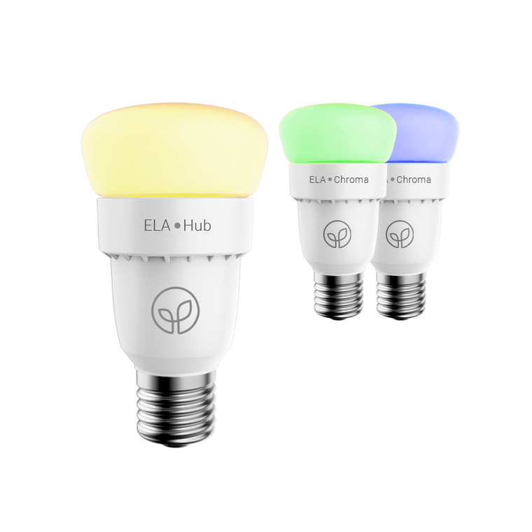 ELA Smart Hub & 2 Chroma Bulbs - Starter Kit