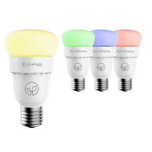 ELA Smart Hub & 3 Chroma Bulbs - Starter Kit