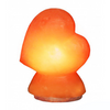 Himalayan Salt Heart Shaped Lamp by Evolution Salt