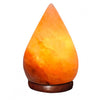 Raindrop Shaped Natural Himalayan Salt Lamp By Evolution Salt